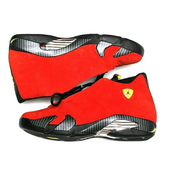 Red Ferrari Jordan 4s | Poshmark